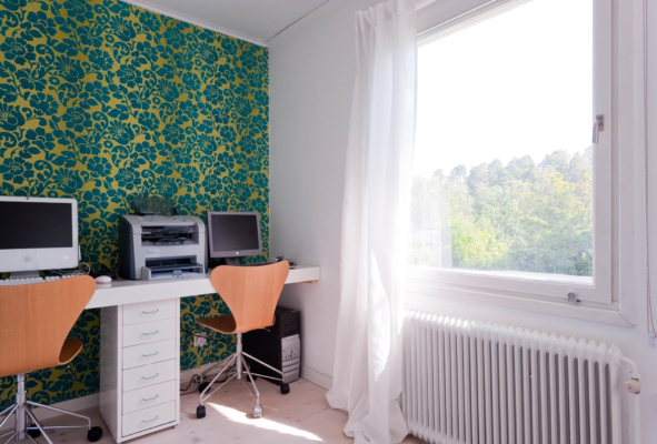 Gavelradhus 5 rum på stor hörntomt utan insyn