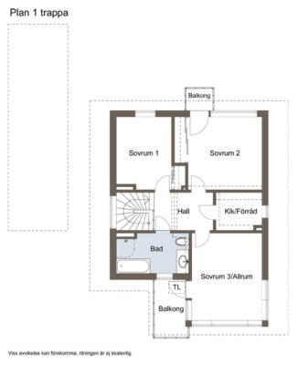 Ljust och stilfullt hus i Silverdal.