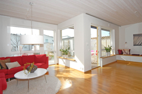Ljust och stilfullt hus i Silverdal