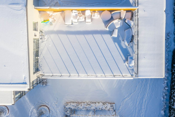 Superfin 3:a högst upp med 70 kvm terrass!