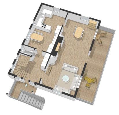 Unik 20-talsvilla 154 kvm med 5 rum och 3 kakelugnar!