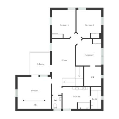 Ljuvlig villa 7 rum, pool och drömläge i Edsviken!