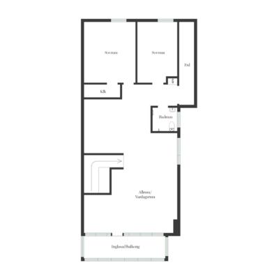 Stor villa med 7 rum, bastu, 2 eldstäder, mycket karaktär och toppenläge